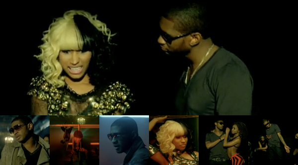 Who knew Usher could be such a seedy guy? In the video for his second single
