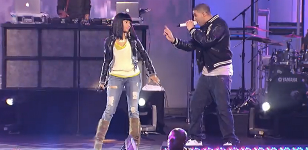 Drake takes over Jimmy Kimmel, Nicki Minaj dresses normal