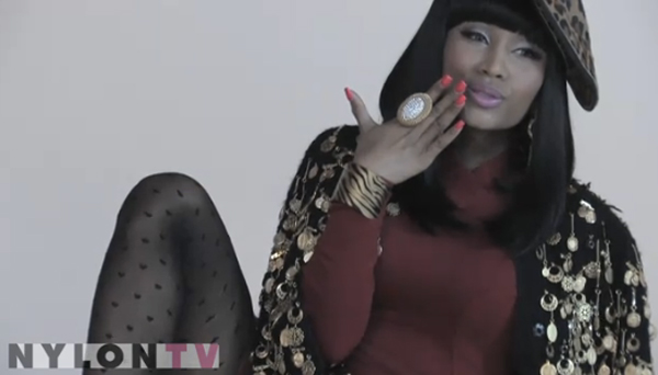 nicki minaj pink friday photoshoot. Nickiminaj-nylon