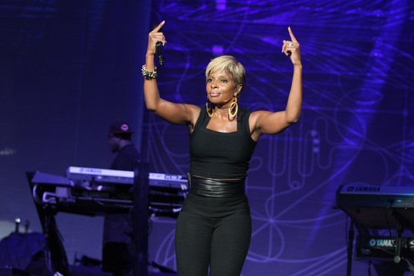 mary j blige stronger with each tear. world than Mary J. Blige.