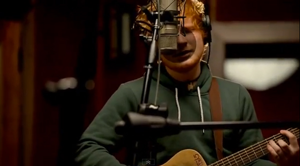 ed sheeran in the live room bark bite those brits 24241